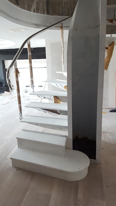 Realización Escalera de Caracol - Paso 6