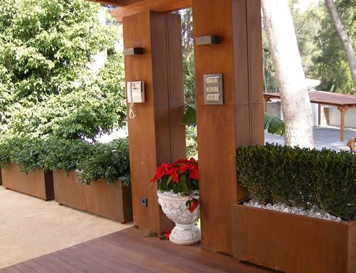 Decoración de Jardín en Acero Corten