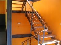 Escalera de Hierro en Zig-Zag 1