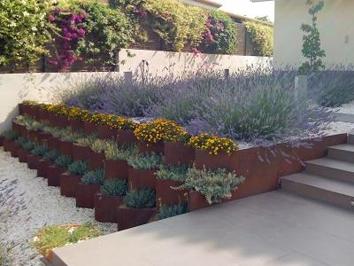 Jardineras en Acero COR-TEN