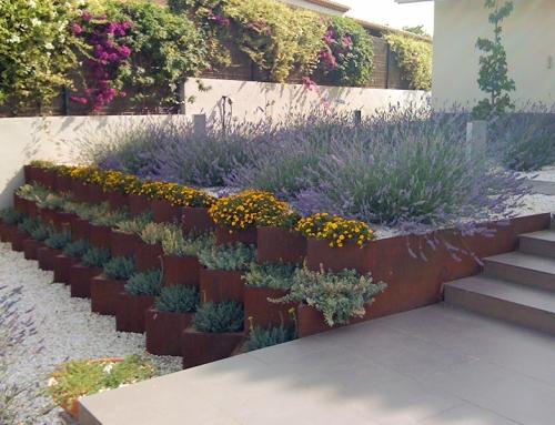Gaviones para jardin vertical artmeval for Tipos de jardineras