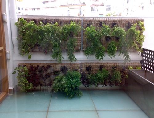 Gaviones para Jardin Vertical
